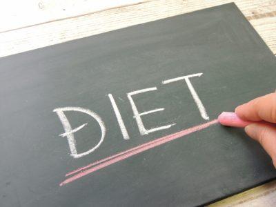 ダイエットの文字
